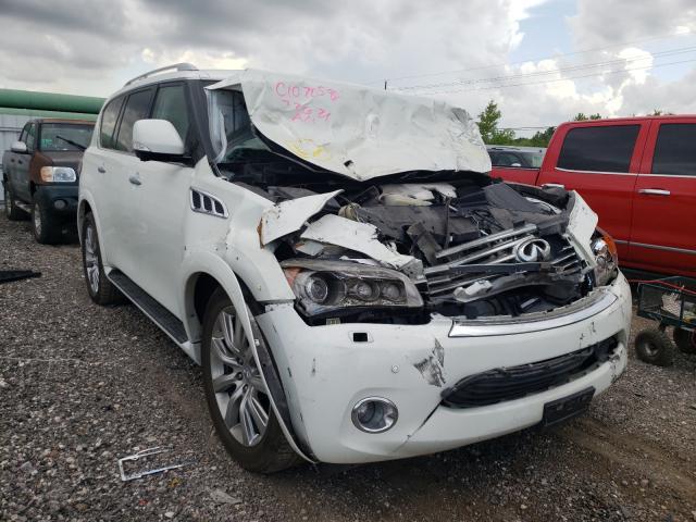 Infiniti QX56 salvage cars for sale: 2013 Infiniti QX56