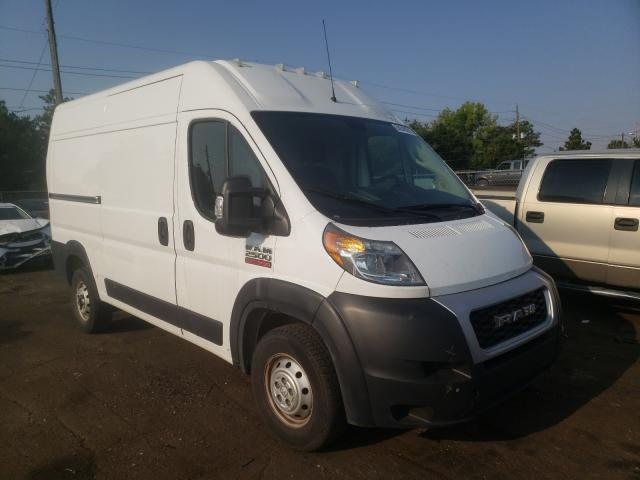 Salvage cars for sale from Copart Denver, CO: 2019 Dodge RAM Promaster