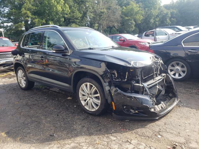 Vehiculos salvage en venta de Copart Austell, GA: 2010 Volkswagen Tiguan S