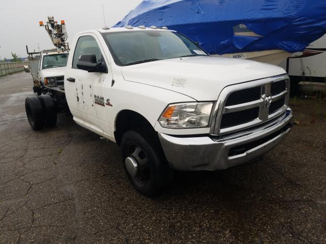 Vehiculos salvage en venta de Copart Woodhaven, MI: 2017 Dodge RAM 3500