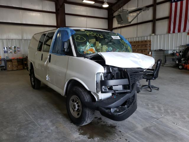 Salvage cars for sale from Copart Mendon, MA: 2020 GMC Savana G25