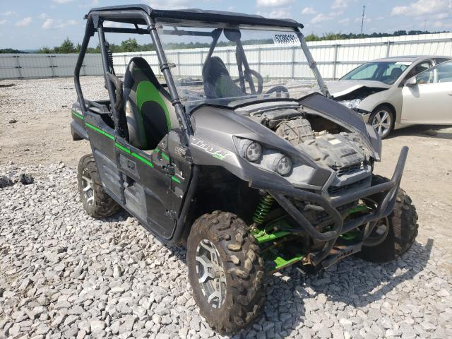 Salvage cars for sale from Copart Earlington, KY: 2016 Kawasaki KRF800 G