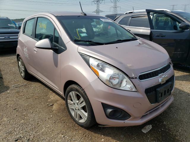 Vehiculos salvage en venta de Copart Elgin, IL: 2013 Chevrolet Spark LS