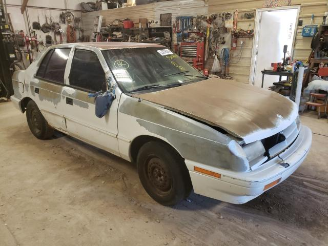 Salvage cars for sale at Billings, MT auction: 1994 Dodge Shadow