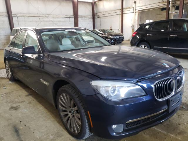 Salvage cars for sale from Copart York Haven, PA: 2012 BMW 750 LXI