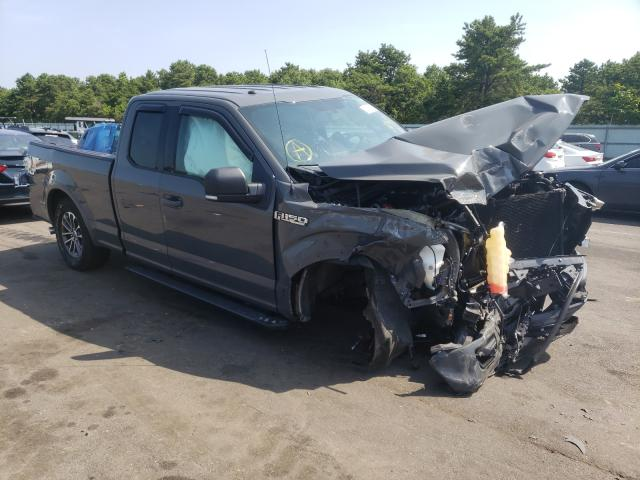 Salvage cars for sale from Copart Brookhaven, NY: 2018 Ford F150 Super