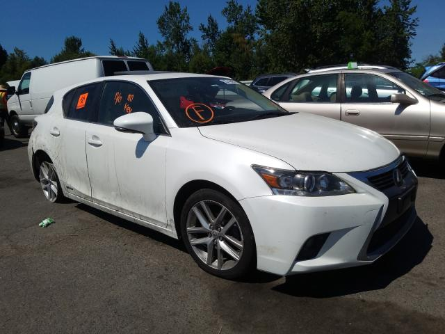 Salvage cars for sale from Copart Portland, OR: 2014 Lexus CT 200