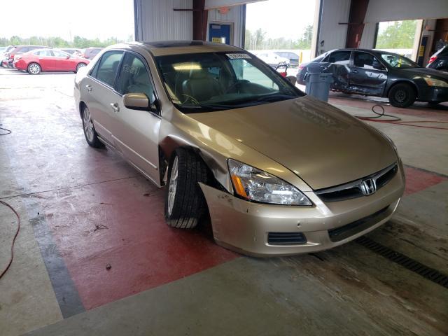 Vehiculos salvage en venta de Copart Angola, NY: 2007 Honda Accord EX