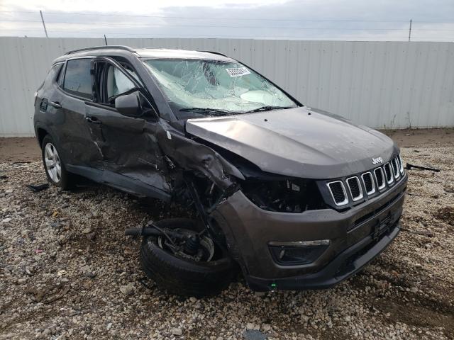 Salvage cars for sale at Elgin, IL auction: 2018 Jeep Compass LA