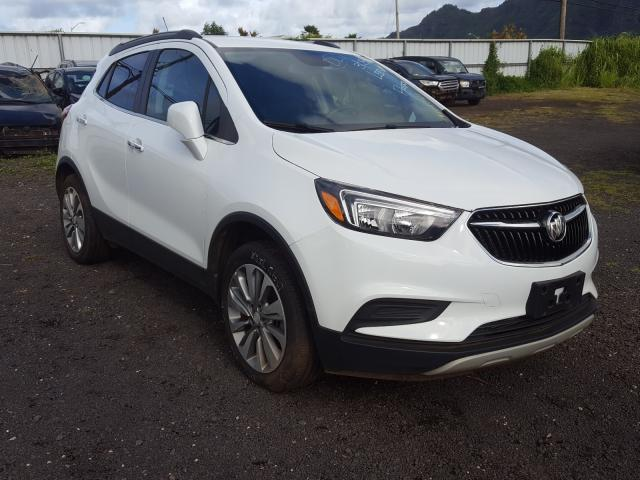 Flood-damaged cars for sale at auction: 2020 Buick Encore PRE