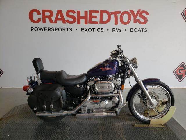 Salvage cars for sale from Copart Sikeston, MO: 1999 Harley-Davidson XL1200 C