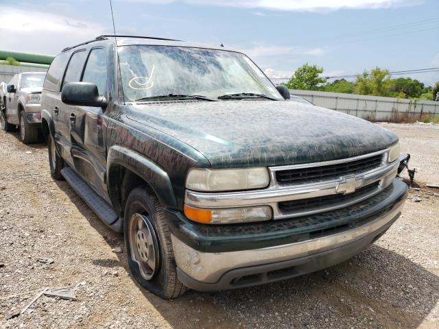 Salvage cars for sale from Copart Houston, TX: 2002 Chevrolet Suburban C