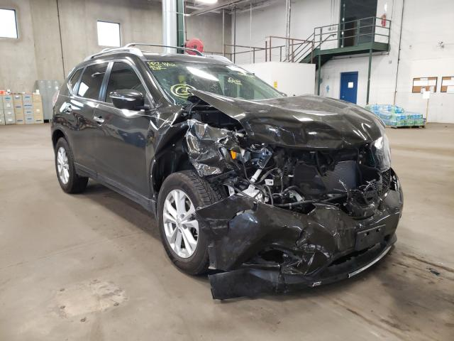 Salvage cars for sale from Copart Blaine, MN: 2015 Nissan Rogue S