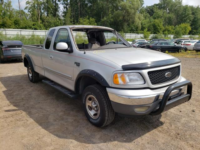 Salvage cars for sale from Copart Davison, MI: 2002 Ford F150