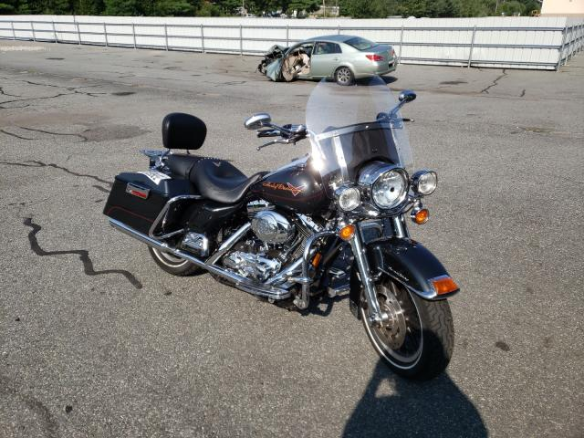Salvage cars for sale from Copart Exeter, RI: 2008 Harley-Davidson Flhr