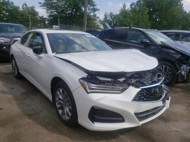 Acura salvage cars for sale: 2021 Acura TLX
