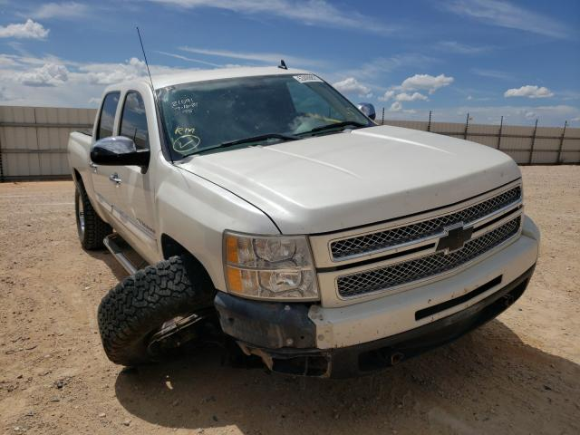 Salvage cars for sale from Copart Andrews, TX: 2012 Chevrolet Silverado