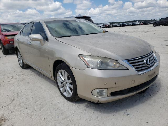 Salvage cars for sale from Copart New Braunfels, TX: 2012 Lexus ES 350