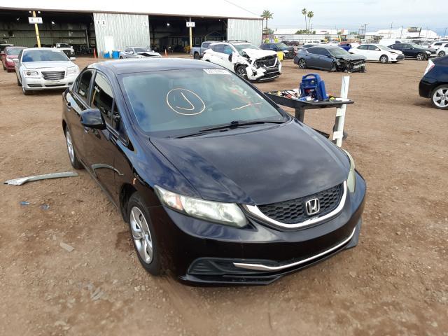Salvage cars for sale from Copart Phoenix, AZ: 2013 Honda Civic LX