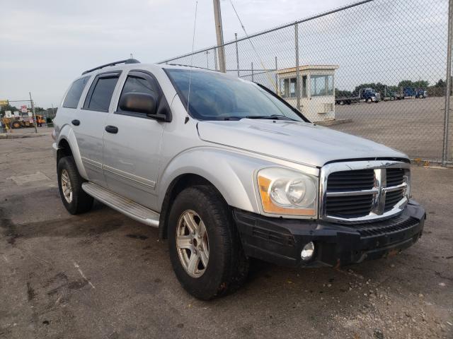 Vehiculos salvage en venta de Copart Moraine, OH: 2004 Dodge Durango LI