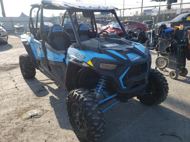 Salvage cars for sale from Copart Los Angeles, CA: 2020 Polaris RZR XP 4 1