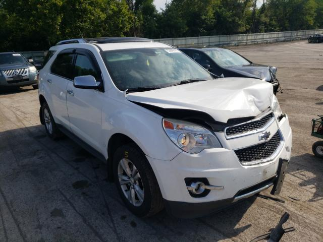 Salvage cars for sale from Copart Ellwood City, PA: 2012 Chevrolet Equinox LT