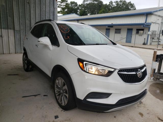 Salvage cars for sale from Copart Greenwell Springs, LA: 2019 Buick Encore PRE