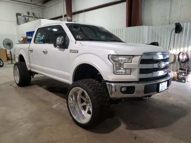 Salvage cars for sale from Copart Lufkin, TX: 2015 Ford F150 Super