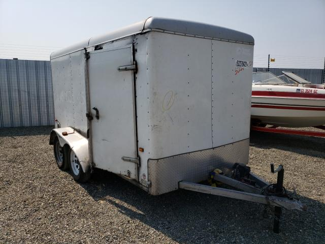 Salvage cars for sale from Copart Antelope, CA: 2006 Wells Cargo Trailer