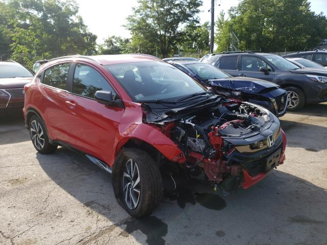 Salvage cars for sale from Copart Marlboro, NY: 2020 Honda HR-V Sport