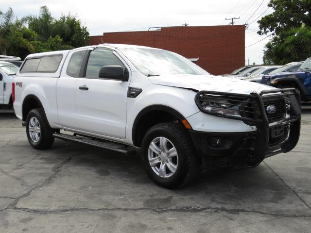 Salvage cars for sale from Copart Colton, CA: 2019 Ford Ranger XL