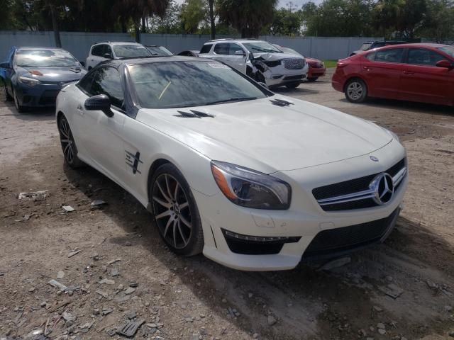 Salvage cars for sale from Copart West Palm Beach, FL: 2016 Mercedes-Benz SL 63 AMG