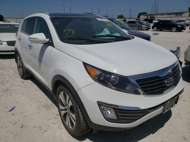 Salvage cars for sale from Copart Haslet, TX: 2012 KIA Sportage E