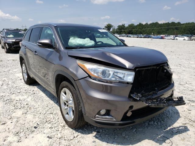Toyota Highlander salvage cars for sale: 2015 Toyota Highlander
