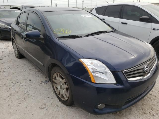 Salvage cars for sale from Copart Haslet, TX: 2012 Nissan Sentra 2.0