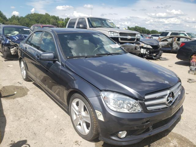 Salvage cars for sale from Copart Riverview, FL: 2011 Mercedes-Benz C 300 4matic