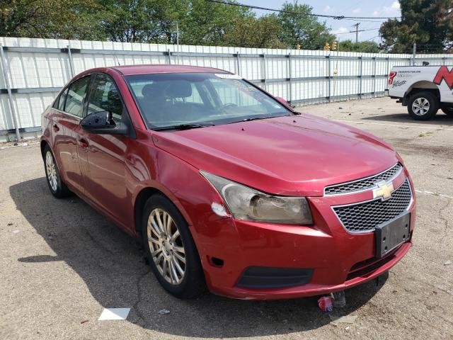Salvage cars for sale from Copart Moraine, OH: 2012 Chevrolet Cruze ECO