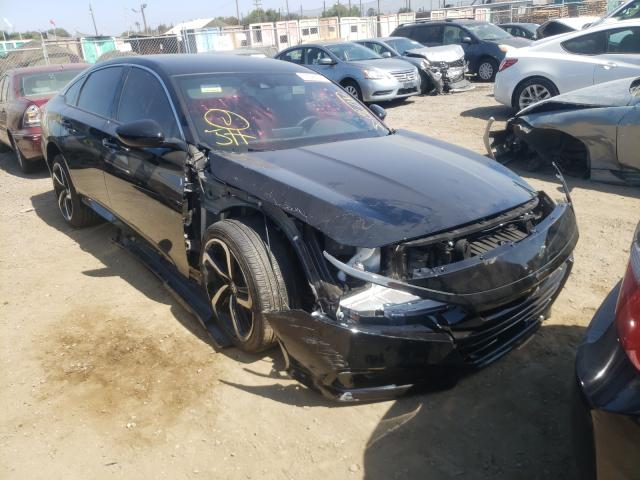 Salvage cars for sale from Copart San Martin, CA: 2021 Honda Accord Sport