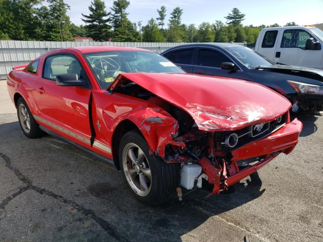 Salvage cars for sale from Copart Exeter, RI: 2006 Ford Mustang