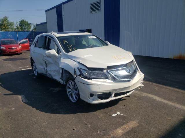 Salvage cars for sale from Copart Moncton, NB: 2018 Acura RDX
