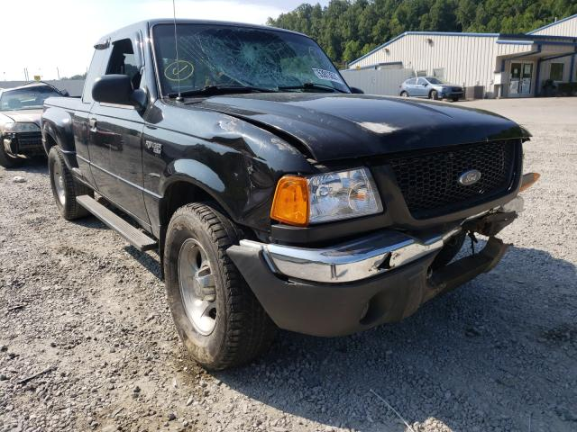 Salvage cars for sale from Copart Hurricane, WV: 2001 Ford Ranger SUP
