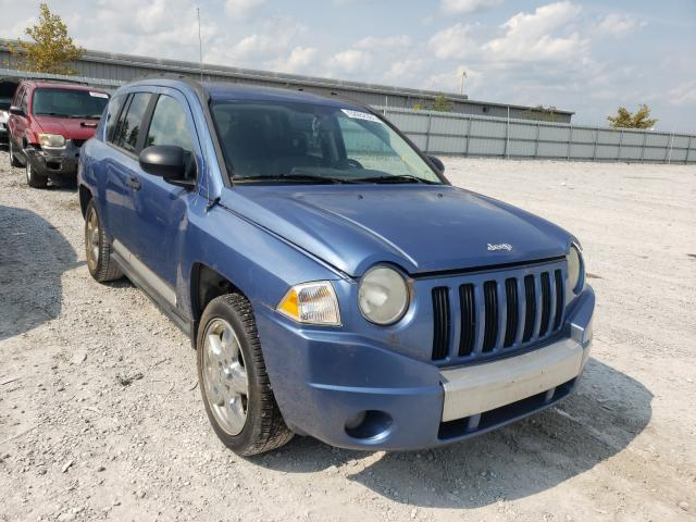 Salvage cars for sale from Copart Walton, KY: 2007 Jeep Compass LI