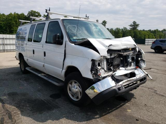 Salvage cars for sale from Copart Exeter, RI: 2013 Ford Econoline