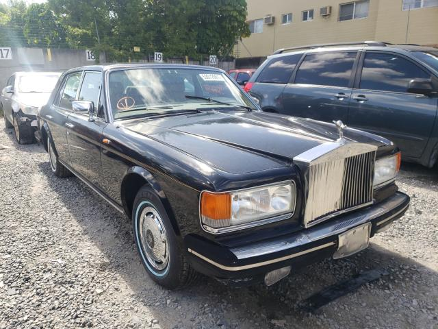 Rolls-Royce salvage cars for sale: 1981 Rolls-Royce Silver SPI
