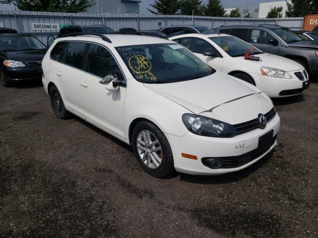 Salvage cars for sale at Bowmanville, ON auction: 2011 Volkswagen Jetta TDI