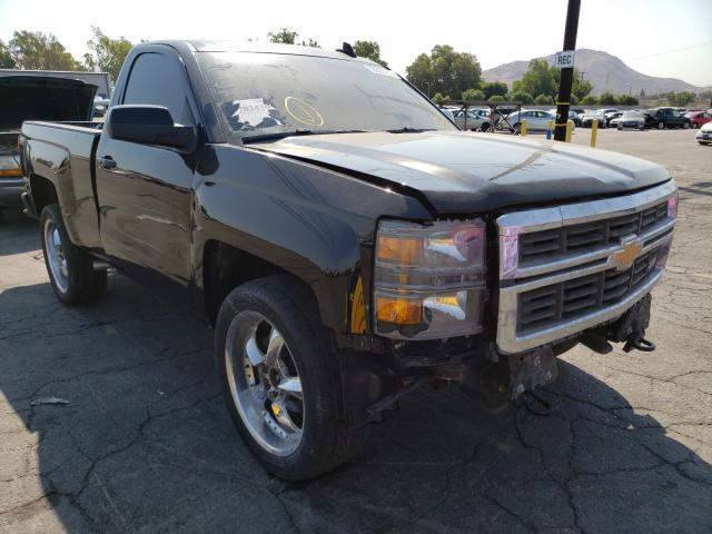 Salvage cars for sale from Copart Colton, CA: 2015 Chevrolet Silverado