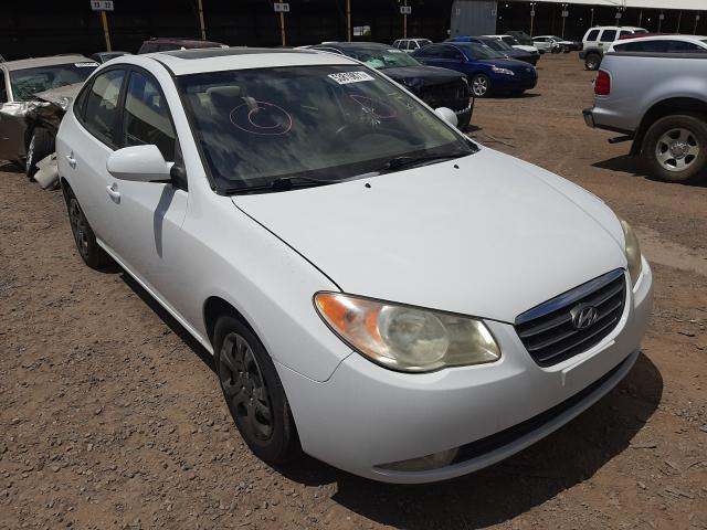 Salvage cars for sale from Copart Phoenix, AZ: 2009 Hyundai Elantra GL