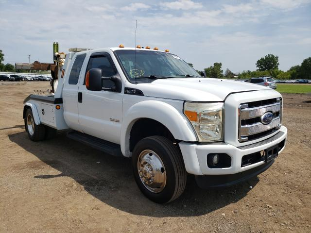 Salvage trucks for sale at Columbia Station, OH auction: 2006 Ford F450 Super