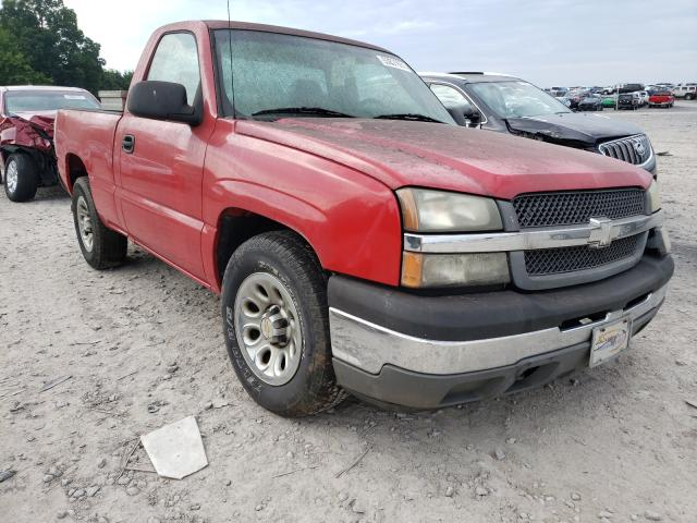 Salvage cars for sale from Copart Madisonville, TN: 2005 Chevrolet Silverado