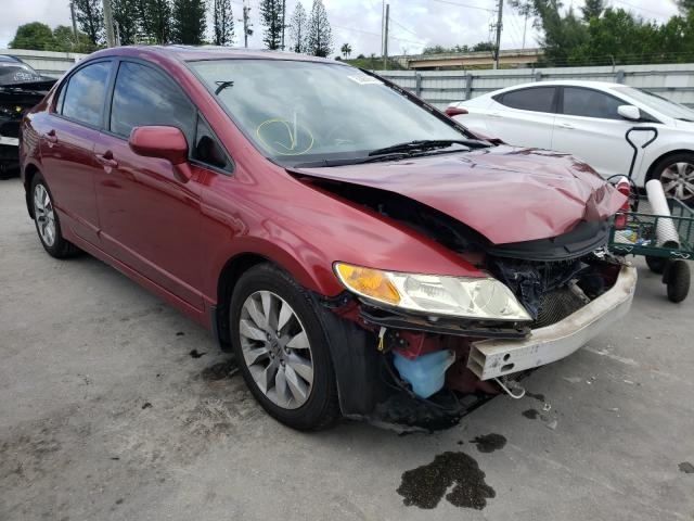 Salvage cars for sale from Copart Miami, FL: 2011 Honda Civic EX